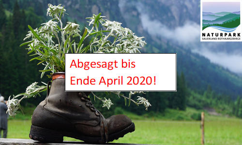Enzian Absagen bis Ende April 2020